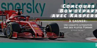 Concours RDS Bon Départ avec Kaspersky