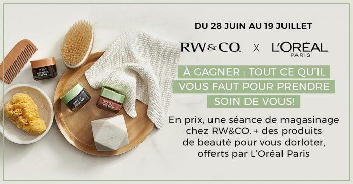 Concours RW&CO L'Oréal