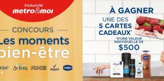 Concours Metro Les Moments Bien-Être
