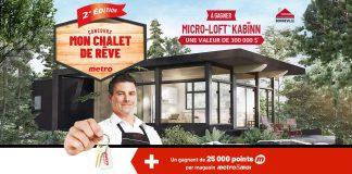 Concours Metro Mon Chalet De Rêve 2020