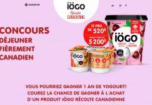 Concours iögo Récolte Canadienne