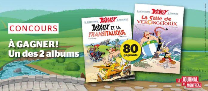 Concours Journal De Montréal Astérix