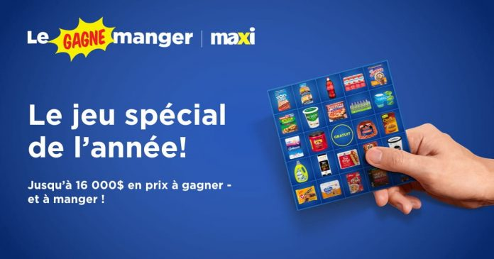 Concours Maxi Gagne Manger 2021