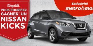 Concours Metro Campbell's