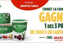Concours Metro Activia