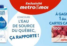 Concours Metro Simple Drop