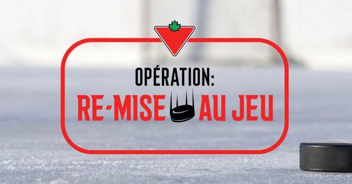 Concours Canadian Tire Opération Re-Mise Au Jeu