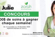 Concours Noovo.ca Semaine Des 4 Julie Zorah