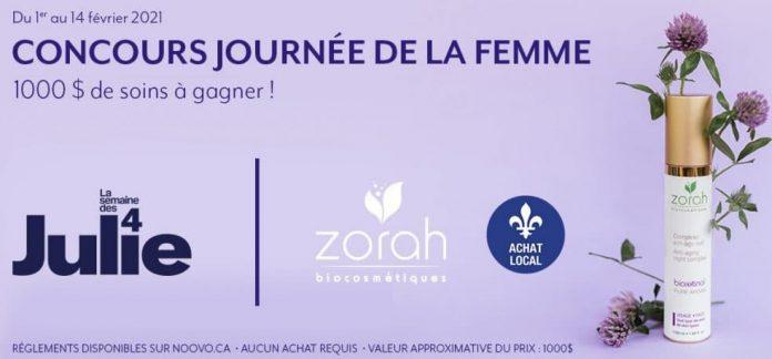 Concours Noovo Journée De La Femme