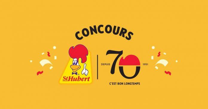 Concours St-Hubert 70 Ans C'est Bon Longtemps