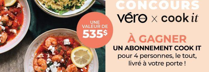 Concours Véro Magazine Cook It
