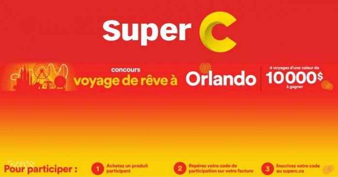 Concours Super C Voyage De Rêve À Orlando