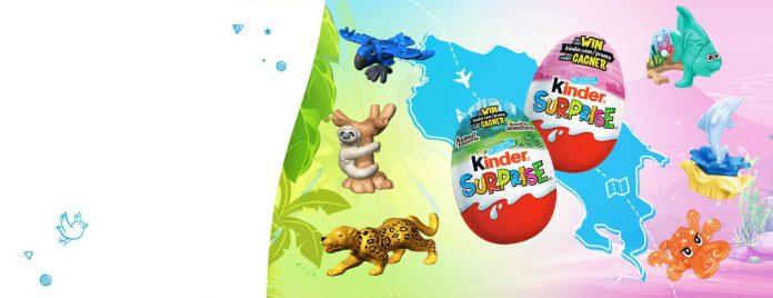 Concours KINDER SURPRISE Aventures Animalières