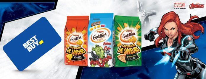 Concours Goldfish de IGA