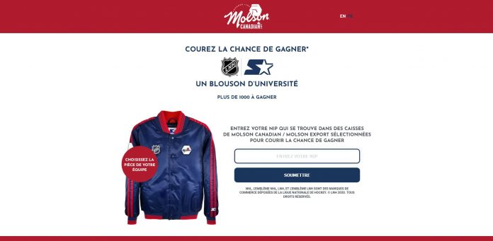 Concours Molson Hockey