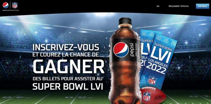 Concours Pepsi Super Bowl LVI