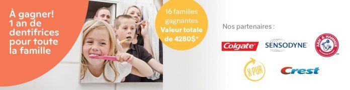 Concours Brunet 1 An De Dentifrices Pour Toute La Famille