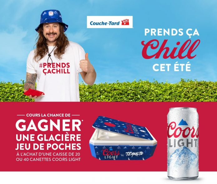 Concours Couche Tard Coors Light