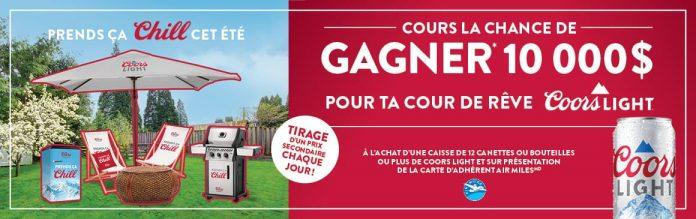 Concours IGA Cour De Rêve Coors Light